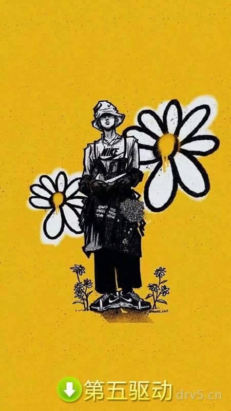 权志龙雏菊壁纸图片图1