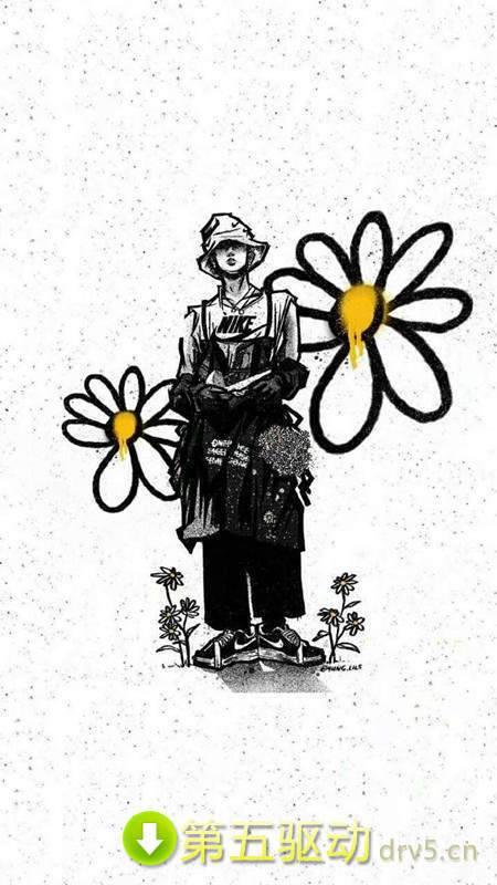 权志龙雏菊壁纸图片图2
