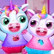 雙胞胎寶寶獨角獸日托