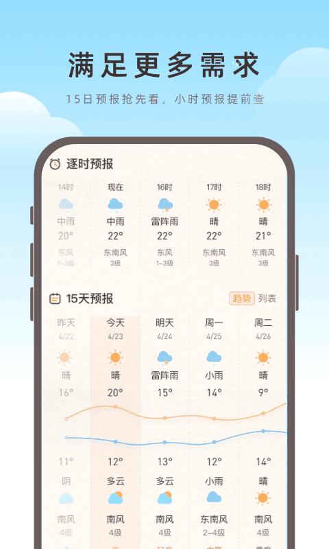 海鸥天气安卓版图4