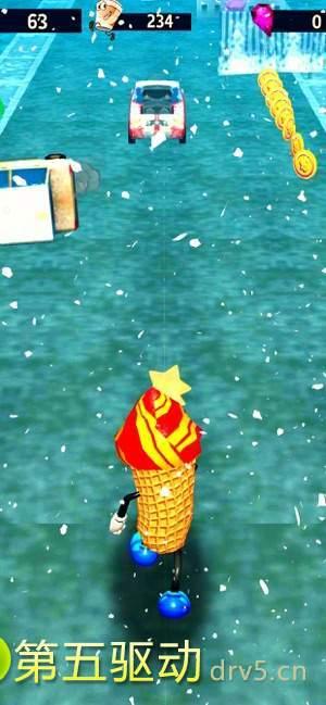 冰激凌跑步者图2