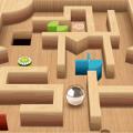 迷宫滚动球3D