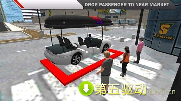 超市購物汽車模擬圖2
