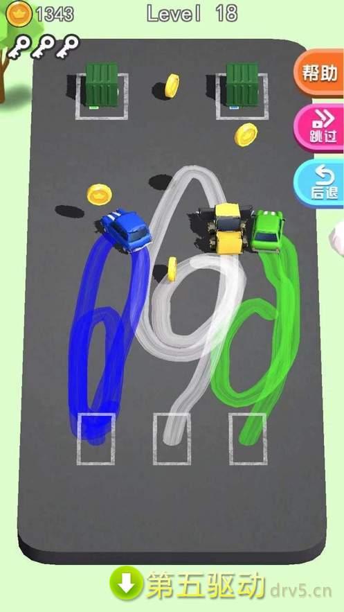 画线停车图2