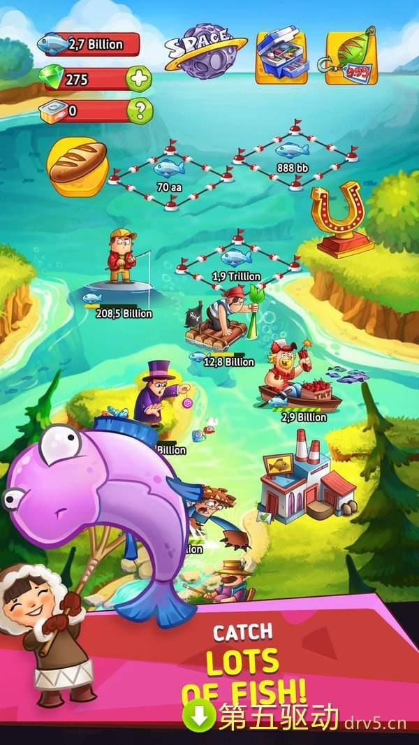 空闲钓鱼帝国图1