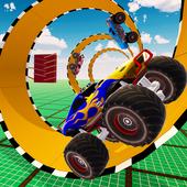 3D Monster Truck Tricky Stunts