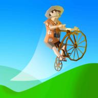 自行车山丘破解版无限金币