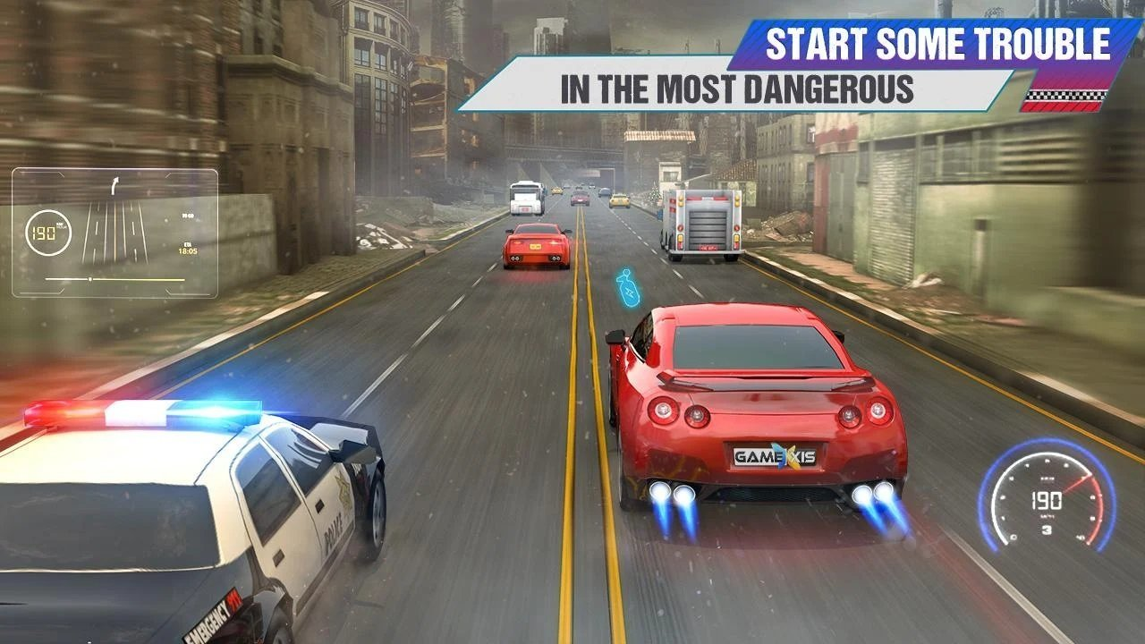 疯狂交通赛车图2