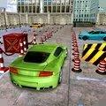 豪车停车场