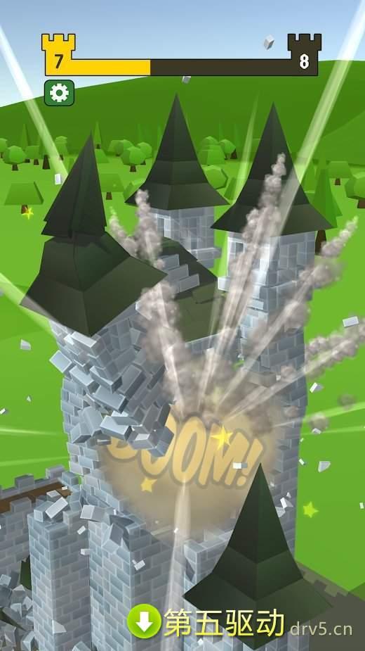 毁灭城堡最新版图4