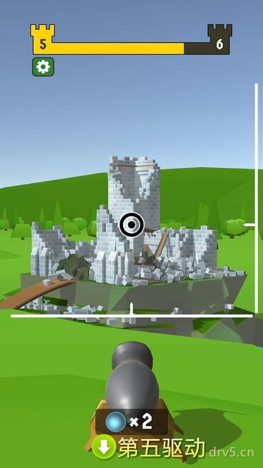 毁灭城堡最新版图2