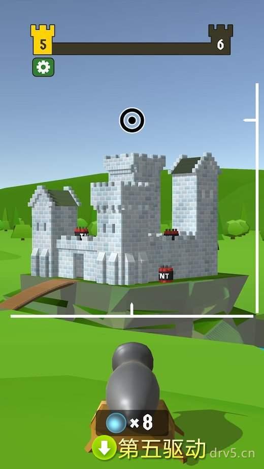 毁灭城堡最新版图1