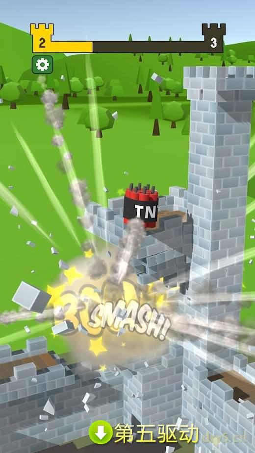 毁灭城堡最新版图3