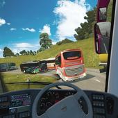 爬坡公交车模拟器游戏