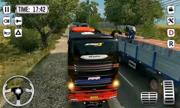 爬坡公交车模拟器游戏图1