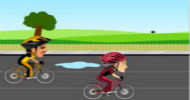 自行车竞速游戏