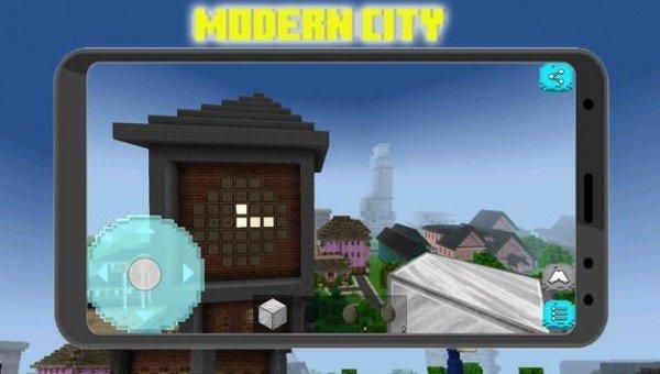 像素城市建筑工艺品图1