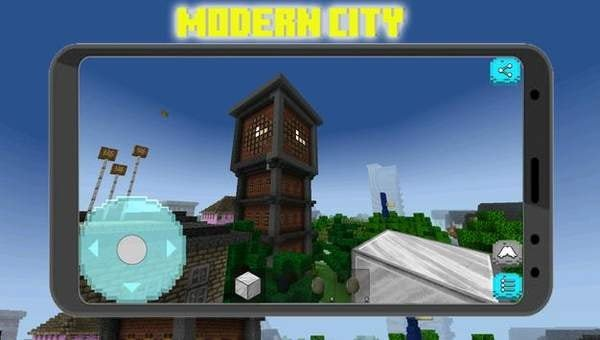 像素城市建筑工艺品图3