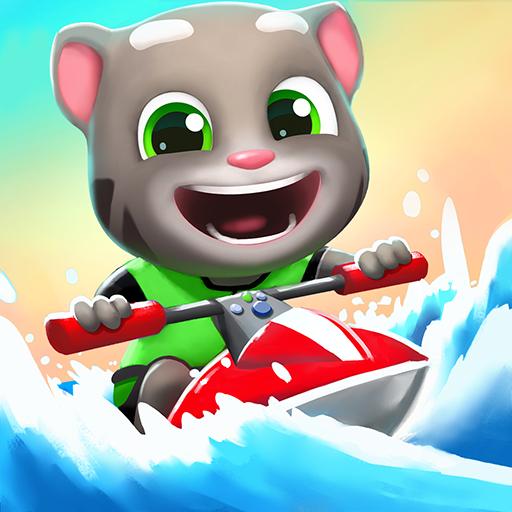 汤姆猫的摩托艇2游戏