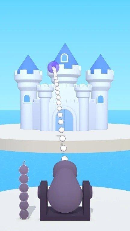 发射炸毁城堡图2