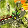 重型卡车伐木货运司机
